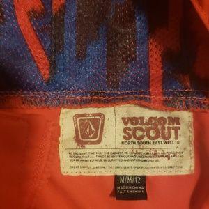 Volcom Jackets & Coats - Red raincoat.